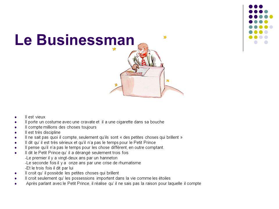 Le Businessman Il est vieux