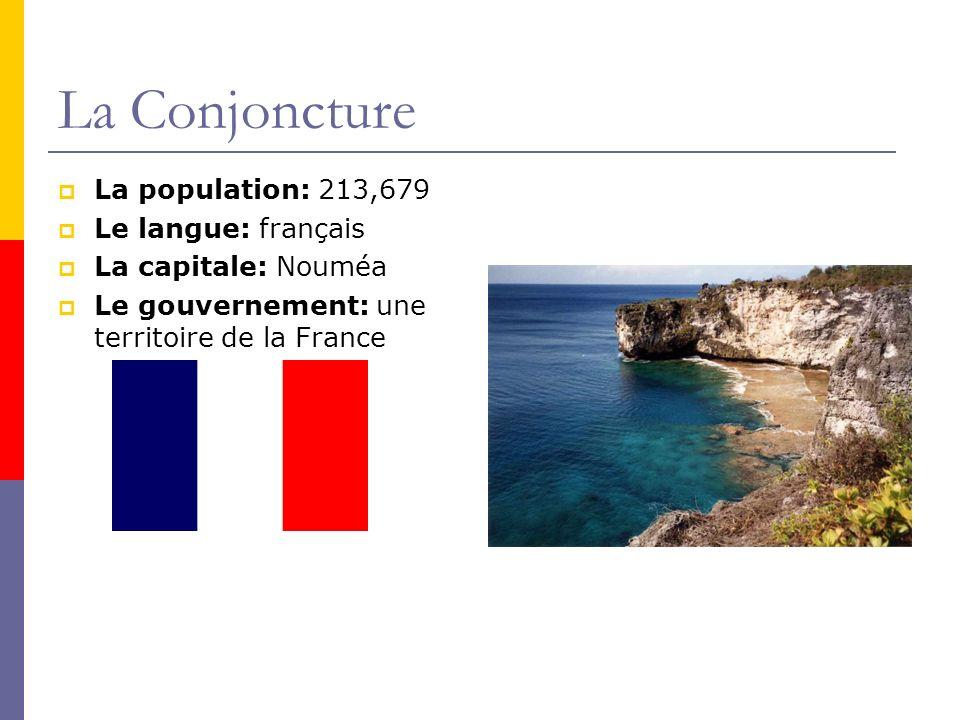 La Conjoncture La population: 213,679 Le langue: français