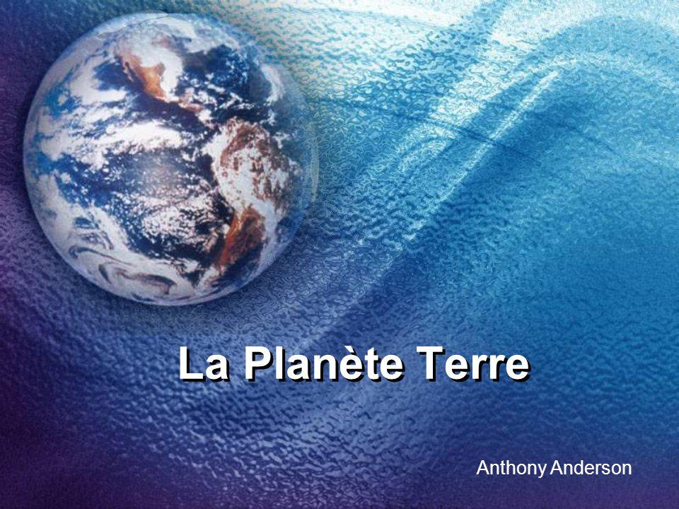 La Planète Terre Anthony Anderson
