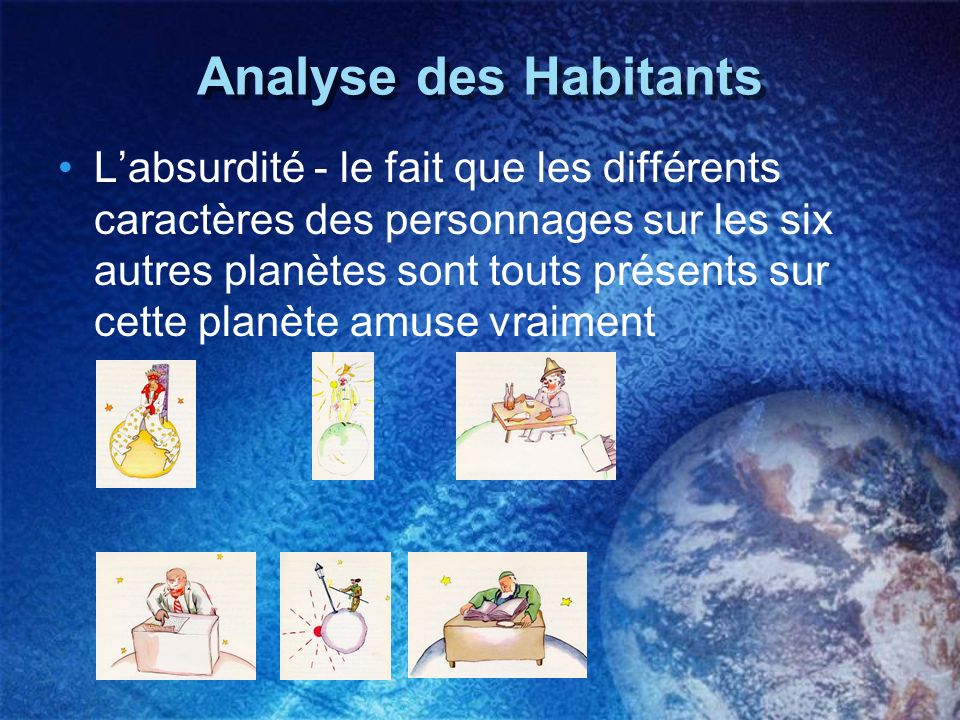 Analyse des Habitants