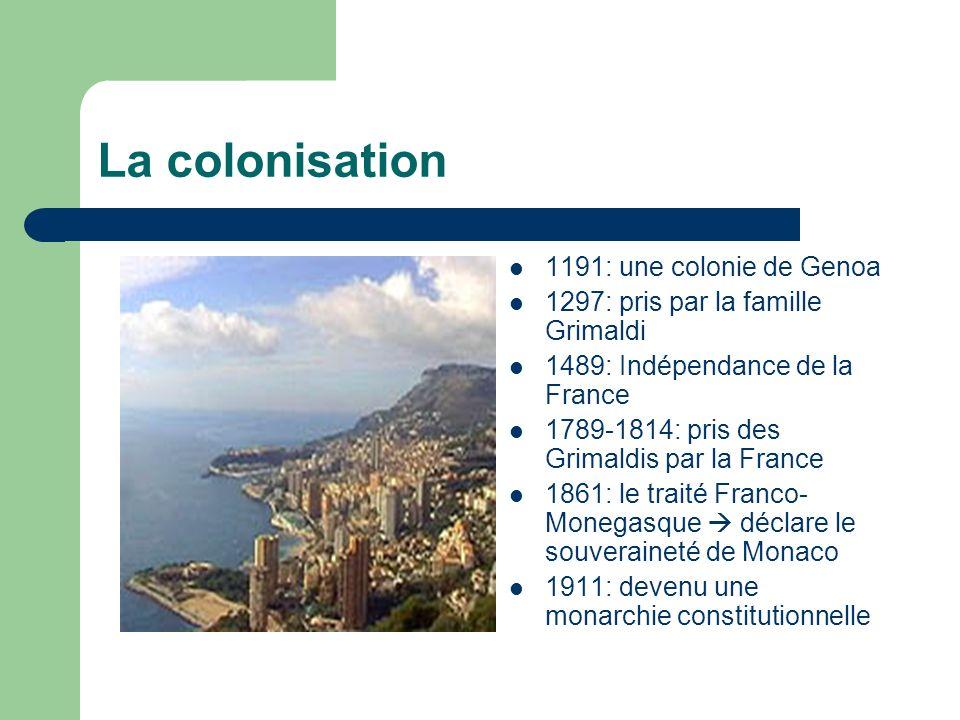La colonisation 1191: une colonie de Genoa