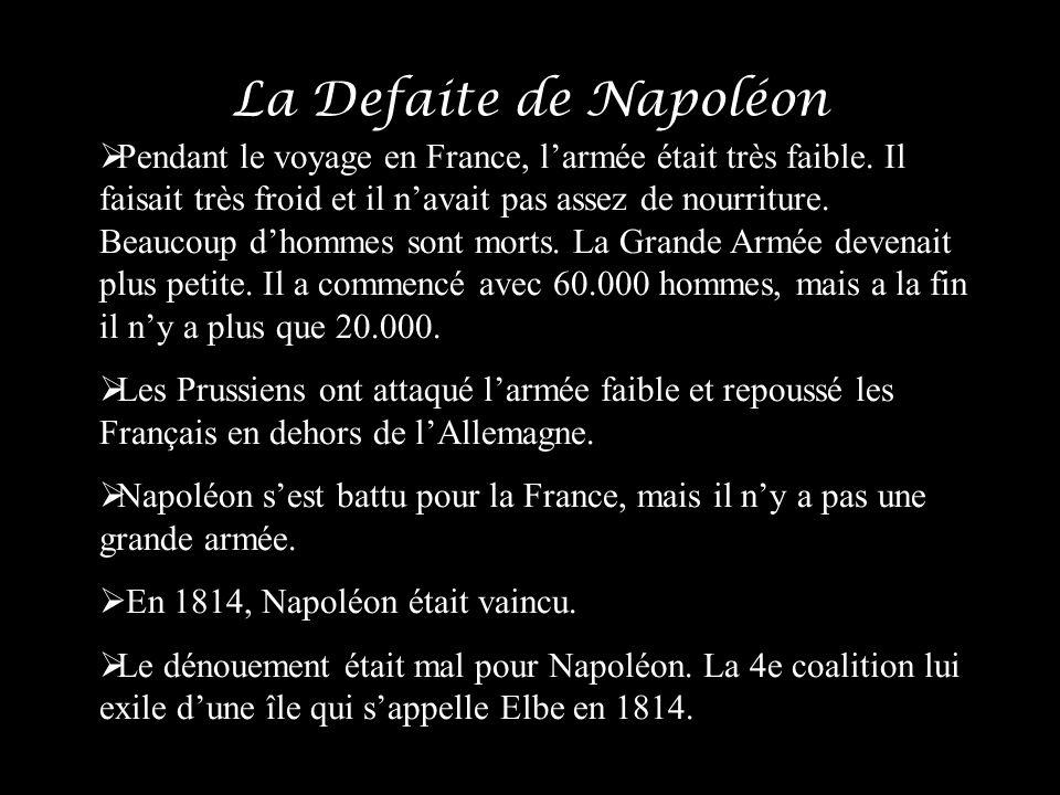 La Defaite de Napoléon