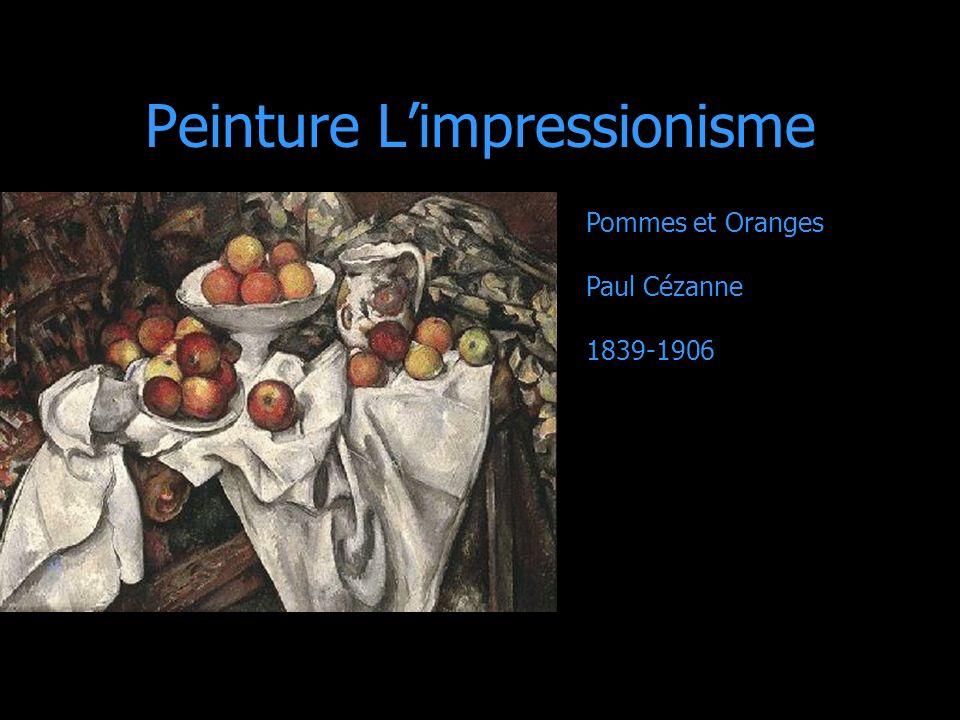 Peinture L'impressionisme