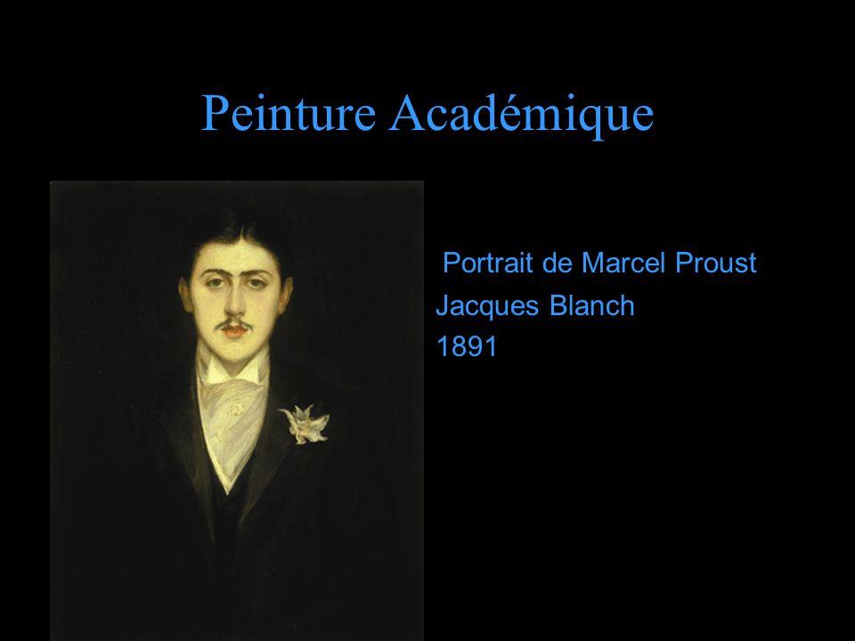 Peinture Académique d Portrait de Marcel Proust Jacques Blanch 1891