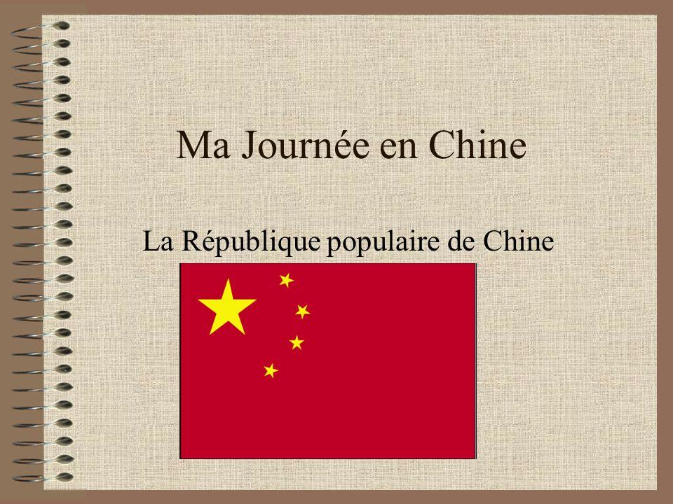 La République populaire de Chine