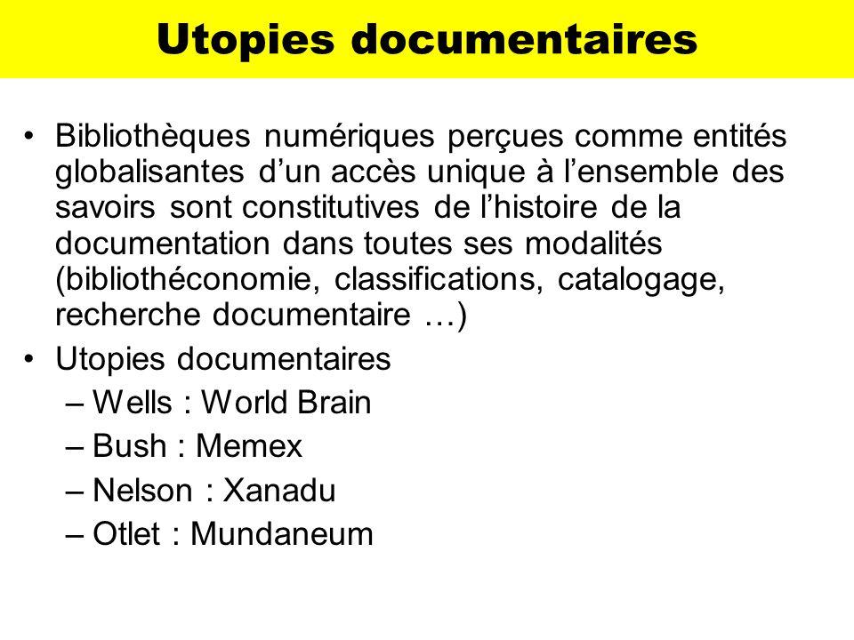 Utopies documentaires
