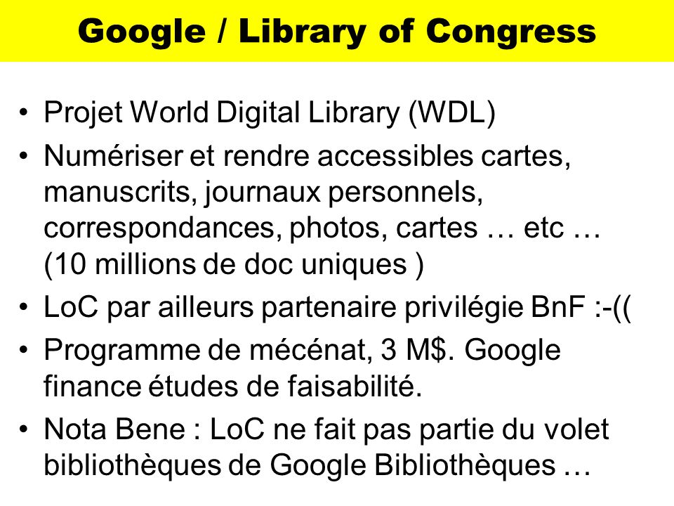 Google / Library of Congress