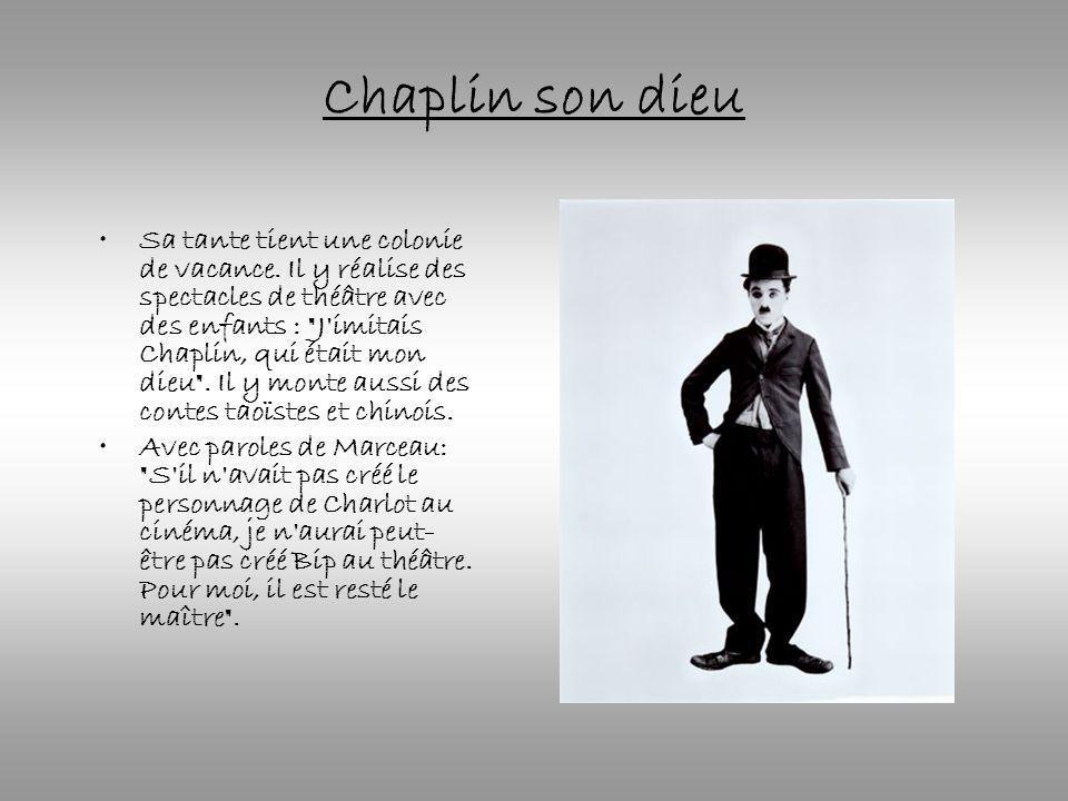 Chaplin son dieu
