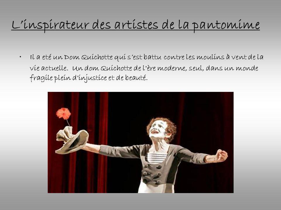 L'inspirateur des artistes de la pantomime