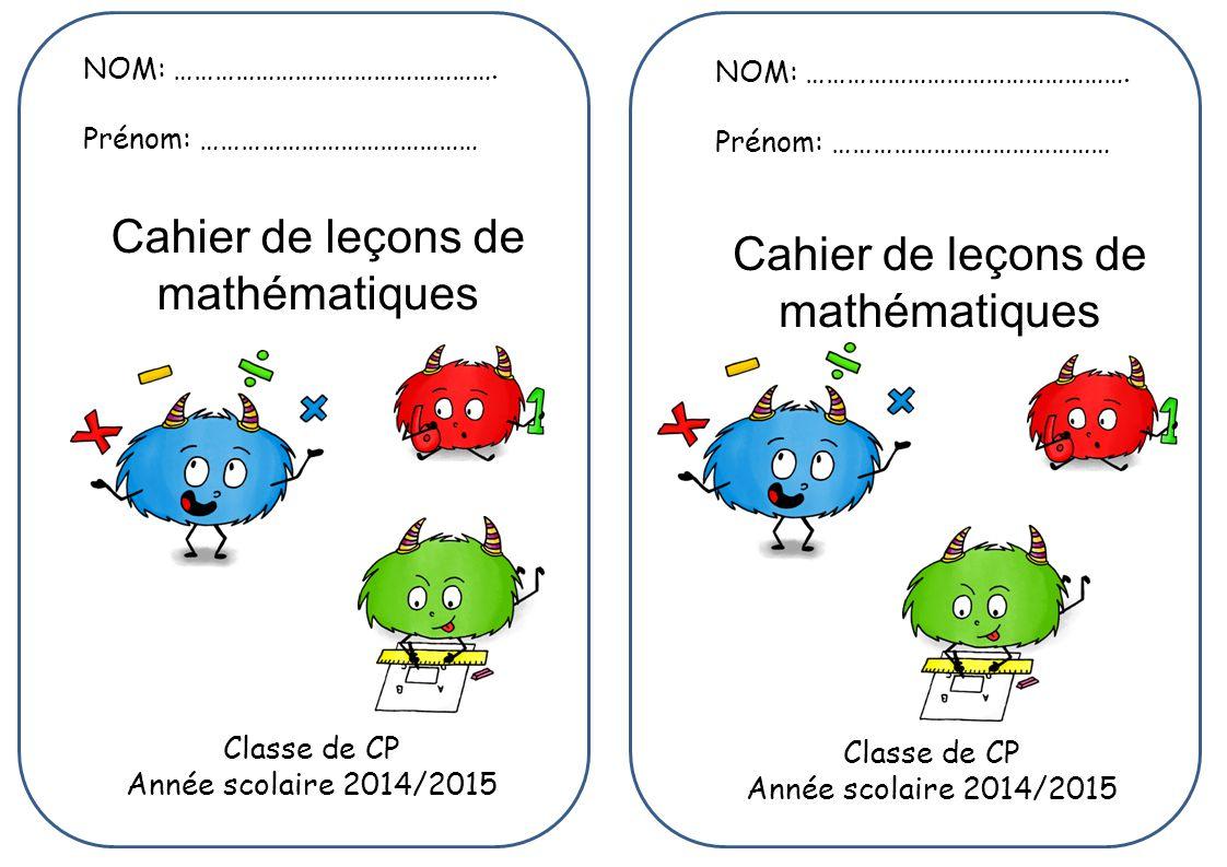 Classe de CP Classe de CP Année scolaire 2014/2015