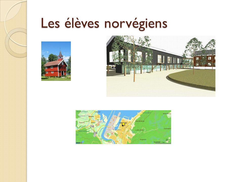 Les élèves norvégiens