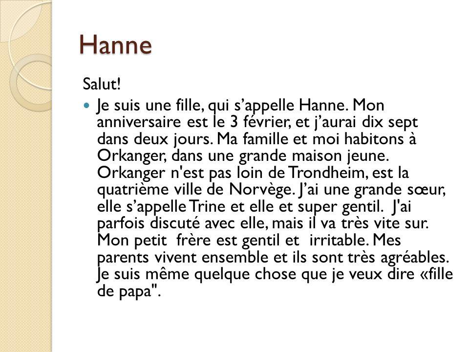 Hanne Salut!