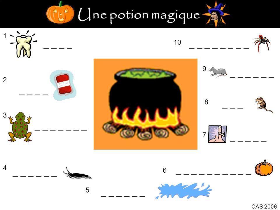 Une potion magique _ _ _ _ _ _ _ _ _ _ _ _ _ _ _ _ _ _ _ _ _ _ _ _ _