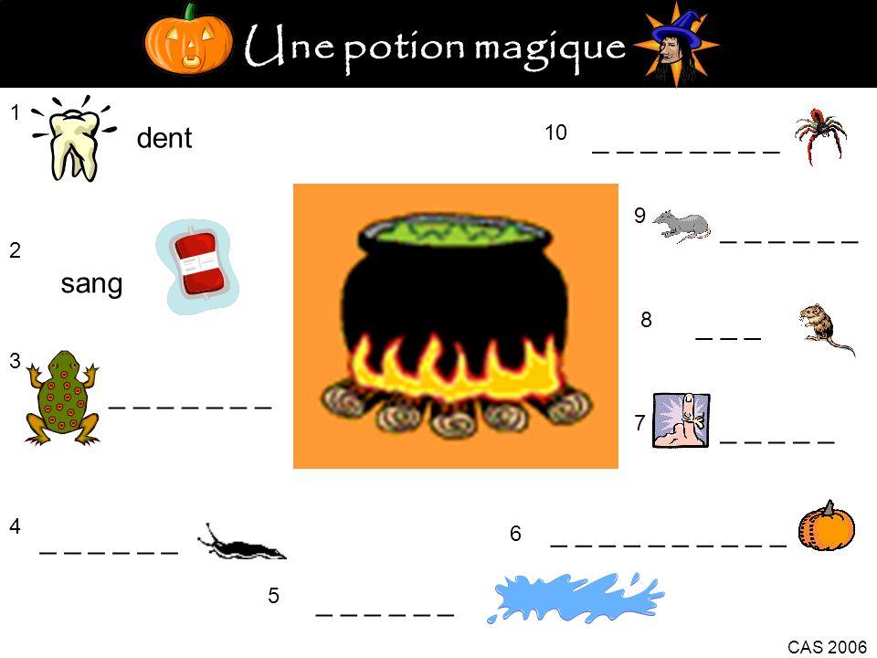 Une potion magique dent _ _ _ _ _ _ _ _ _ _ _ _ _ _ sang _ _ _
