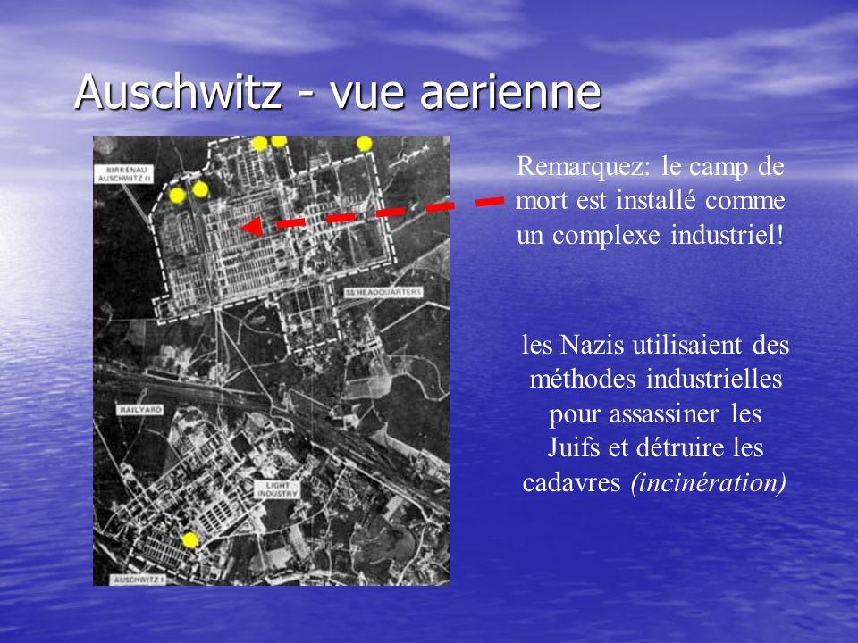 Auschwitz - vue aerienne