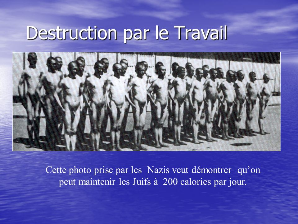 Destruction par le Travail