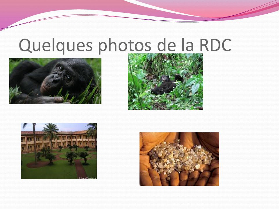 Quelques photos de la RDC