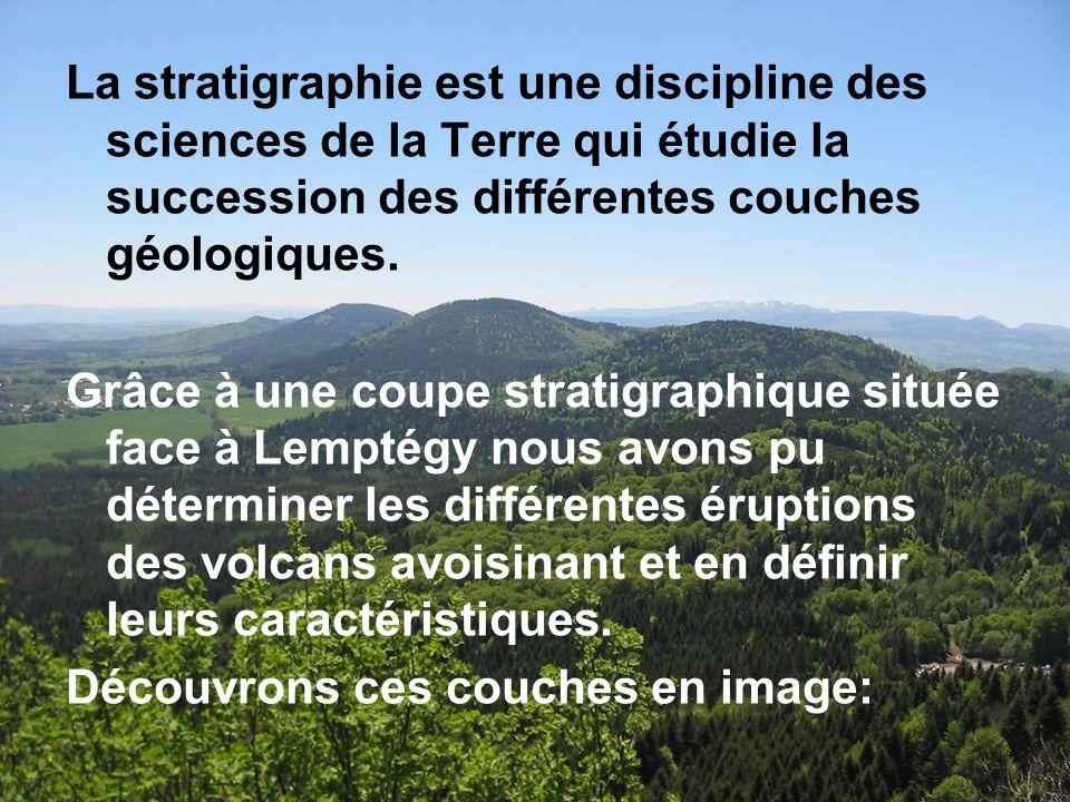 Pr sentation et analyse des diff rentes coupes stratigraphiques ppt video online t l charger - Differente couche de la terre ...