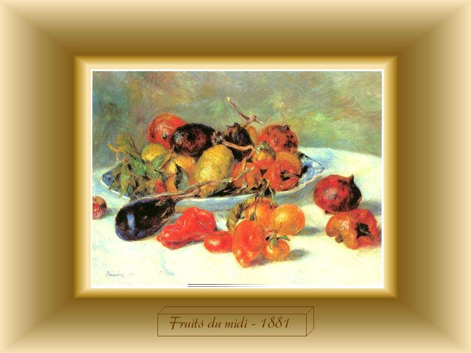 Fruits du midi - 1881