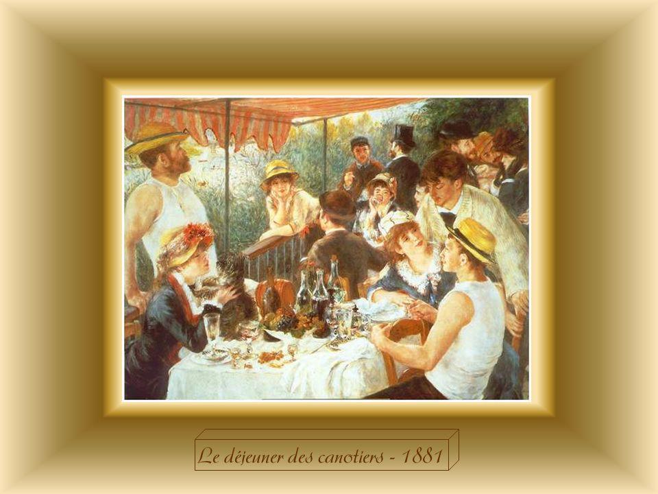 Le déjeuner des canotiers - 1881