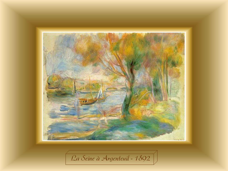 La Seine à Argenteuil - 1892