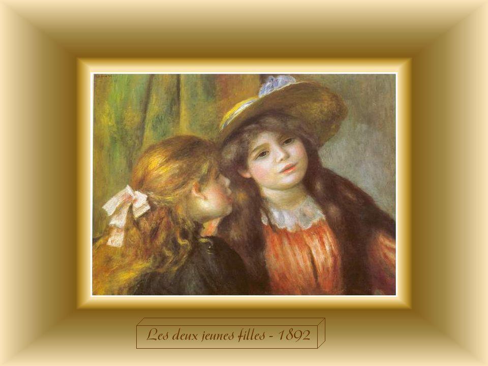 Les deux jeunes filles - 1892