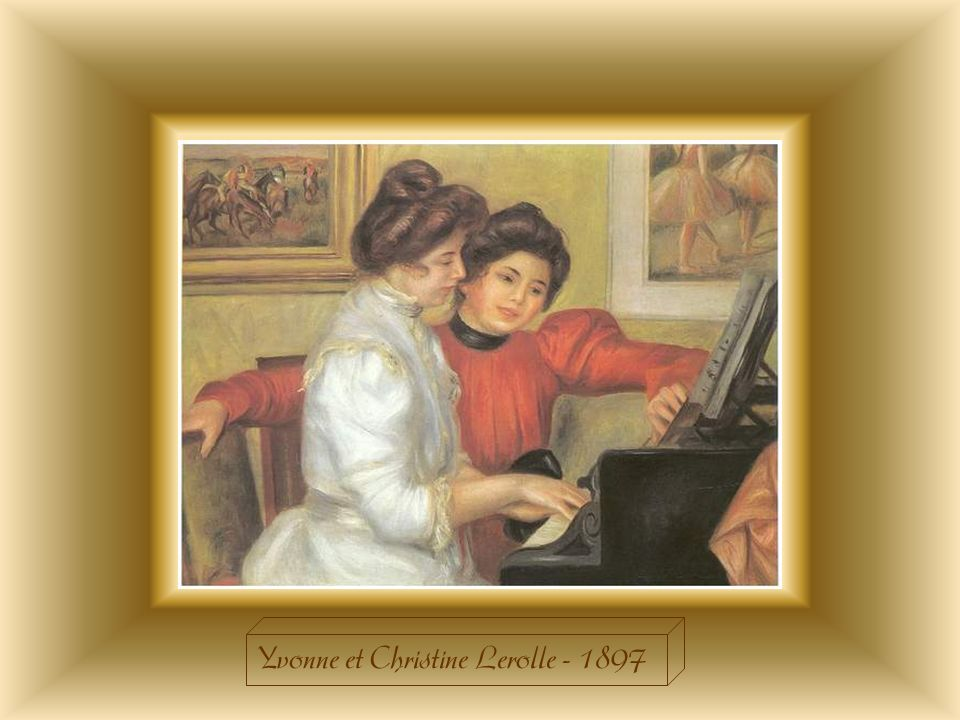 Yvonne et Christine Lerolle - 1897