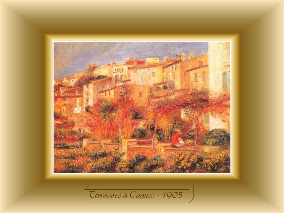 Terrasses à Cagnes - 1905