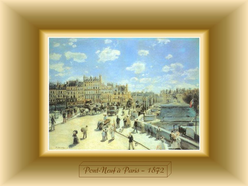 Pont-Neuf à Paris – 1872
