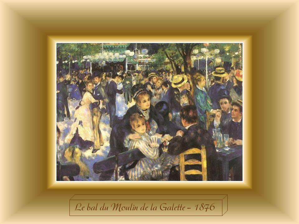 Le bal du Moulin de la Galette – 1876