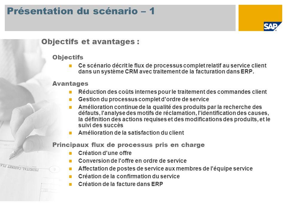 gestion des ordres de service sap best practices for crm ppt t l charger. Black Bedroom Furniture Sets. Home Design Ideas