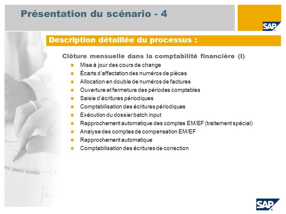 Présentation du scénario - 4