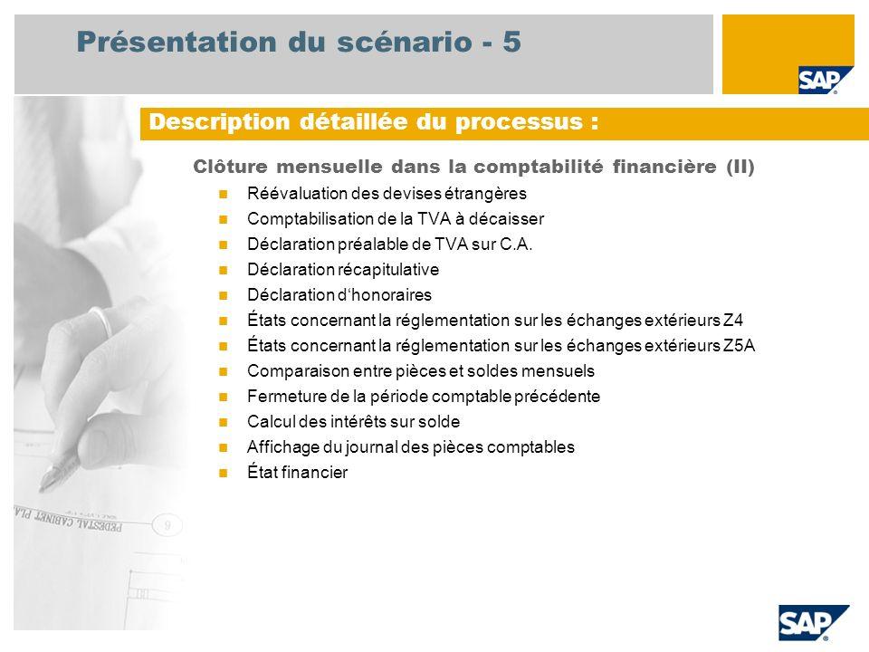 Présentation du scénario - 5
