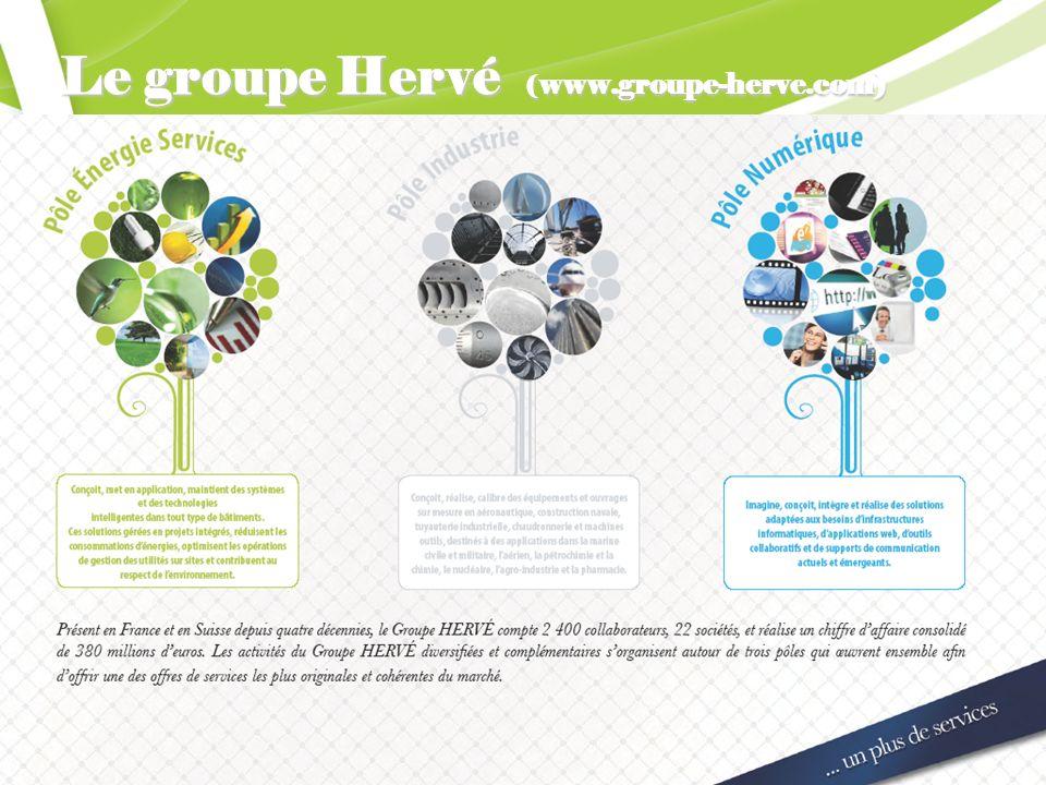 Le groupe Hervé (www.groupe-herve.com)