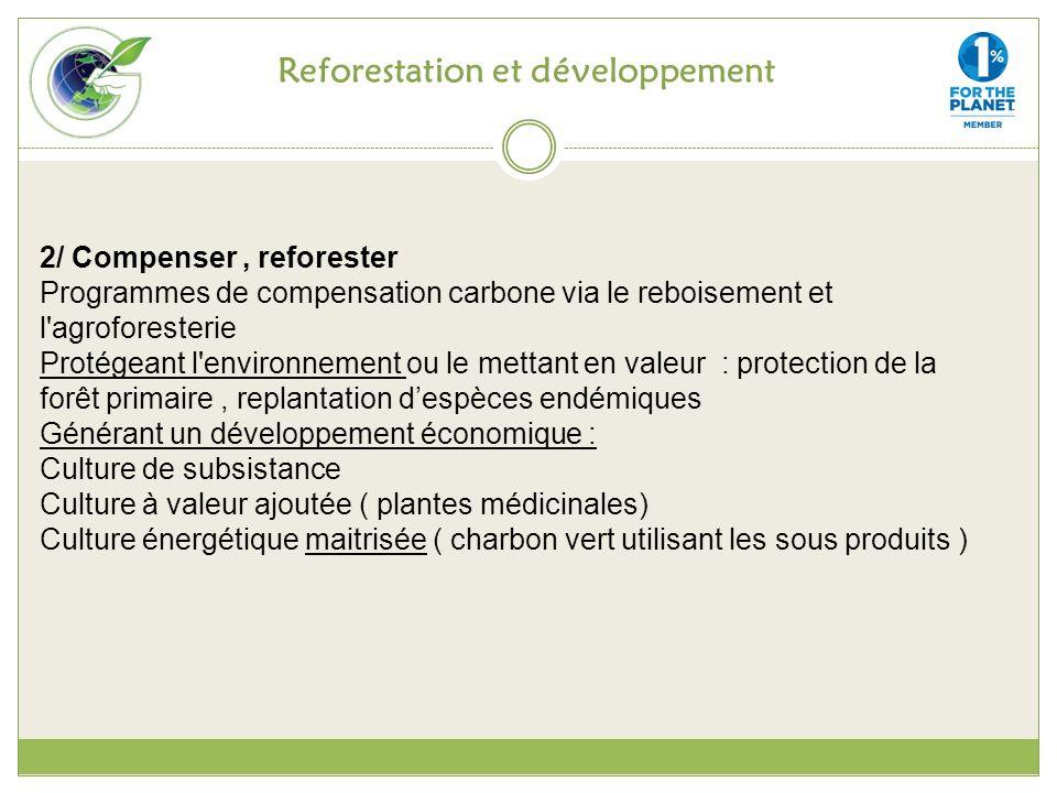 Reforestation et développement