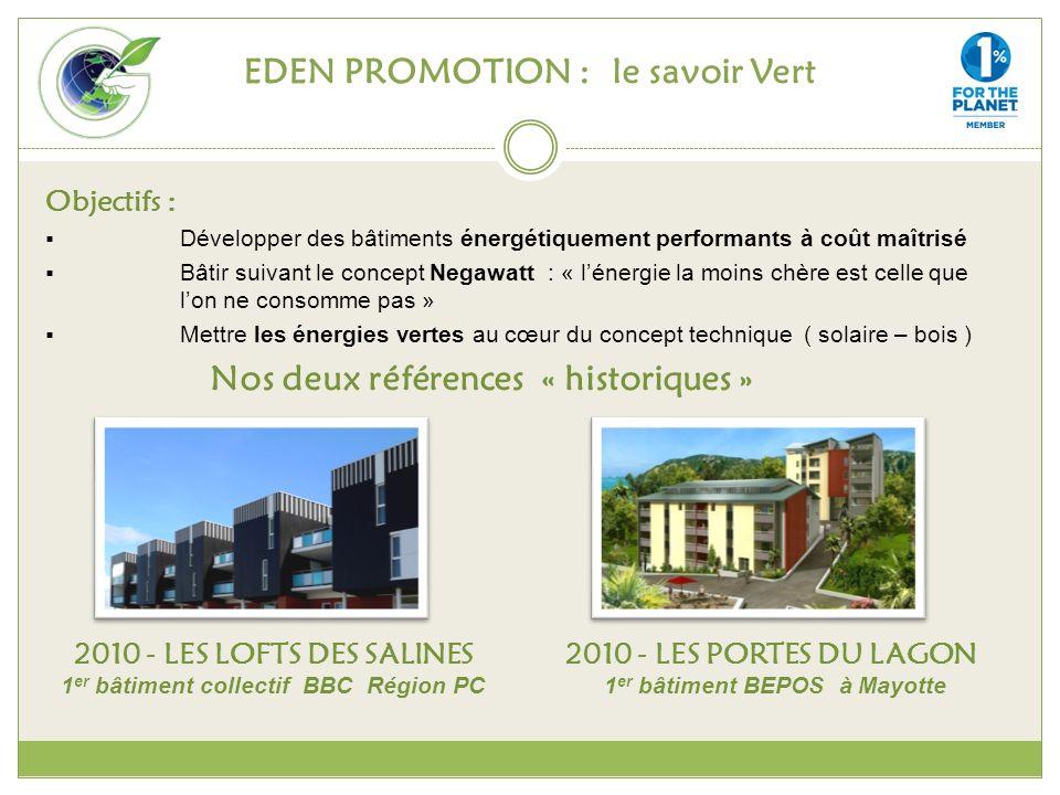 EDEN PROMOTION : le savoir Vert
