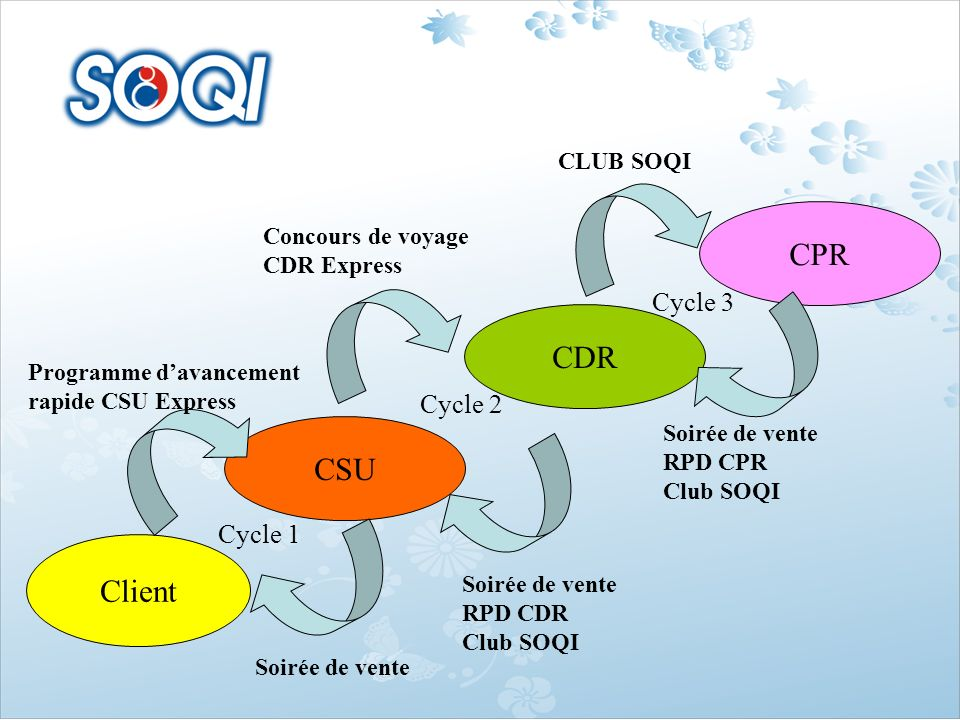 CPR CDR CSU Client Cycle 3 Cycle 2 Cycle 1 CLUB SOQI