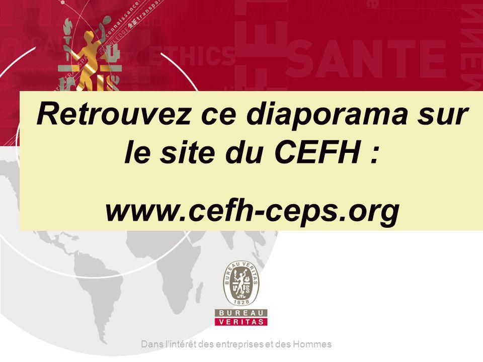 Retrouvez ce diaporama sur le site du CEFH :