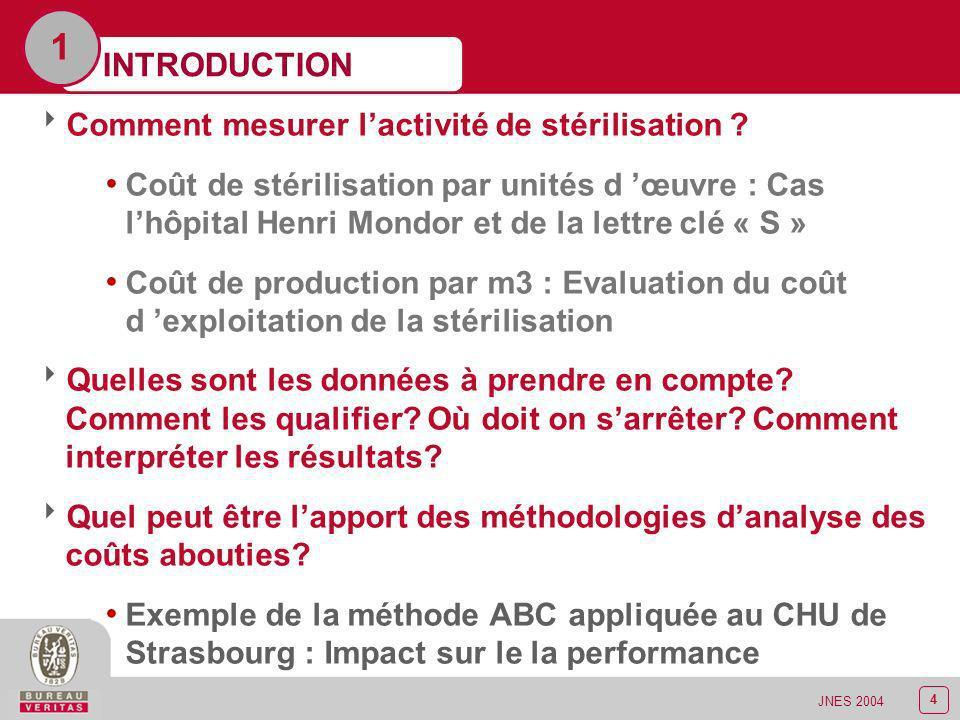 1 INTRODUCTION Comment mesurer l'activité de stérilisation