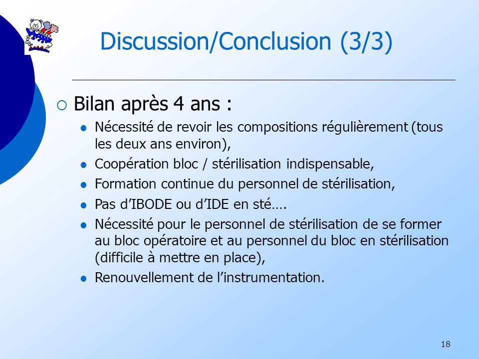 Discussion/Conclusion (3/3)