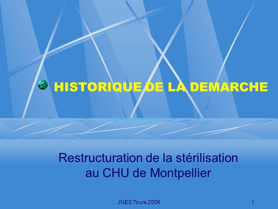 HISTORIQUE DE LA DEMARCHE
