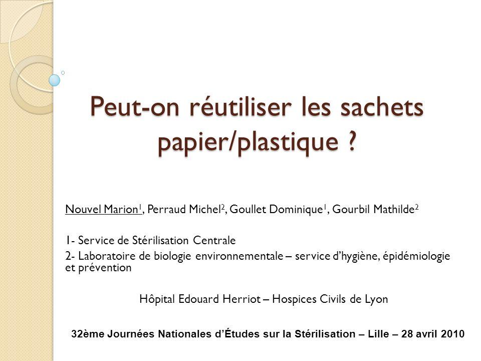 Peut-on réutiliser les sachets papier/plastique