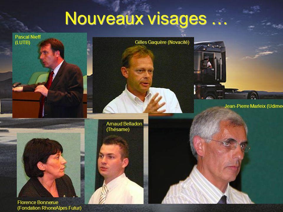 Nouveaux visages … Pascal Nieff (LUTB) Gilles Gaquère (Novacité)