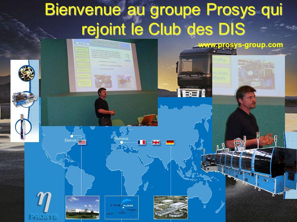 Bienvenue au groupe Prosys qui rejoint le Club des DIS