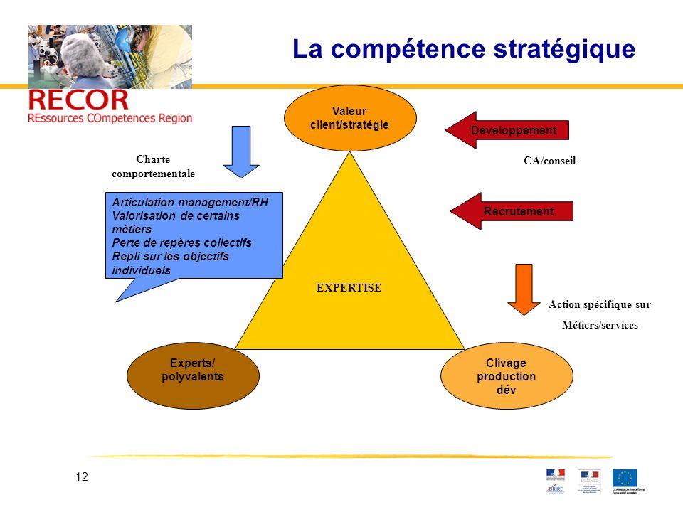 La compétence stratégique