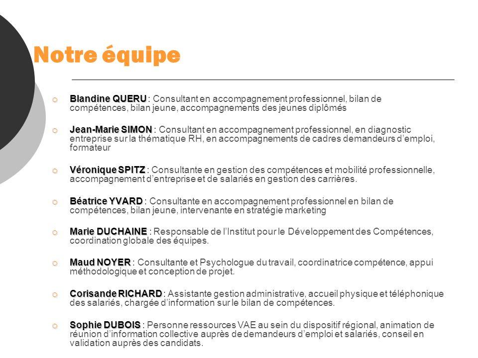 Notre équipeBlandine QUERU : Consultant en accompagnement professionnel, bilan de compétences, bilan jeune, accompagnements des jeunes diplômés.