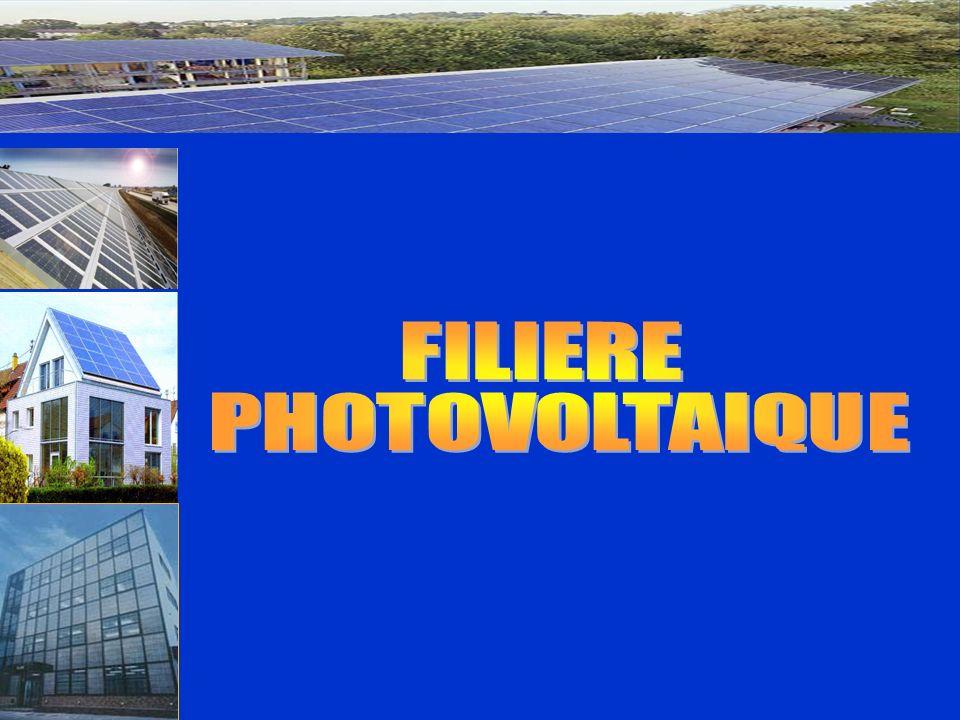 FILIERE PHOTOVOLTAIQUE