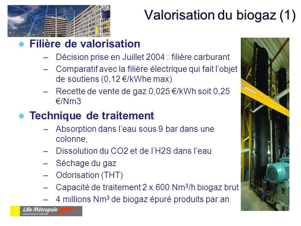 Valorisation du biogaz (1)