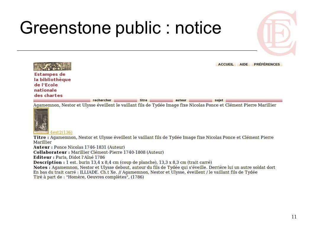 Greenstone public : notice