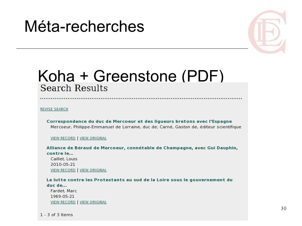 Koha + Greenstone (PDF)